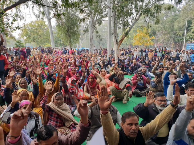 The sanitation workers of the Municipal Corporation of Chandigarh have been protesting against the implementation...