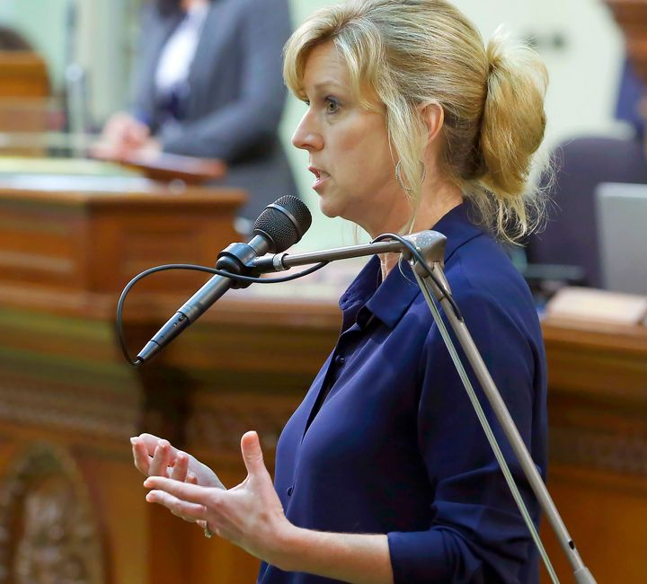 California Assemblywoman Christy Smith (D) received the most votes in Tuesday's primary for the CA-25 seat vacated by former