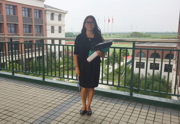 My first day of school as a teacher. I chose to start my career outside Ontario's drama-filled school