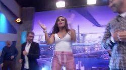 Cristina Pedroche da que hablar por los pantalones que ha llevado a 'El