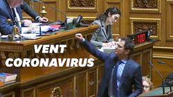 Coronavirus oblige, ce sénateur a très bien pris ce vent de Gérard