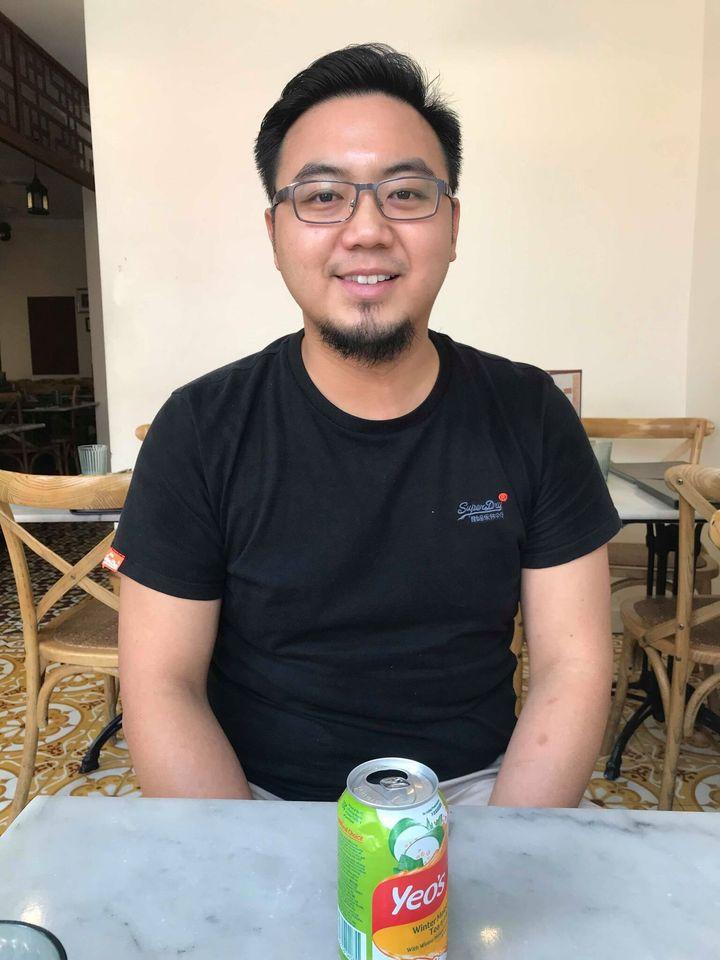 Junda Khoo, owner of Malaysian restaurant Ho Jiak in Sydney's Chinatown.