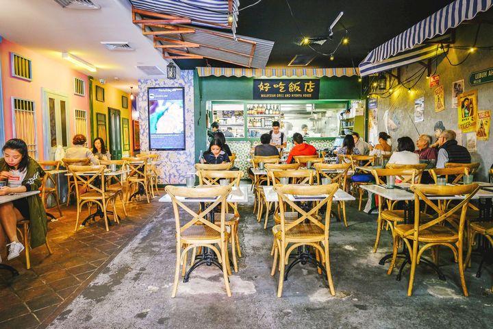 Ho Jiak in Haymarket in Sydney's Chinatown