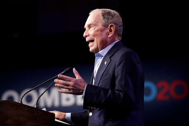 Michael Bloomberg avait préféré rejoindre la course après coup, faisant l'impasse...