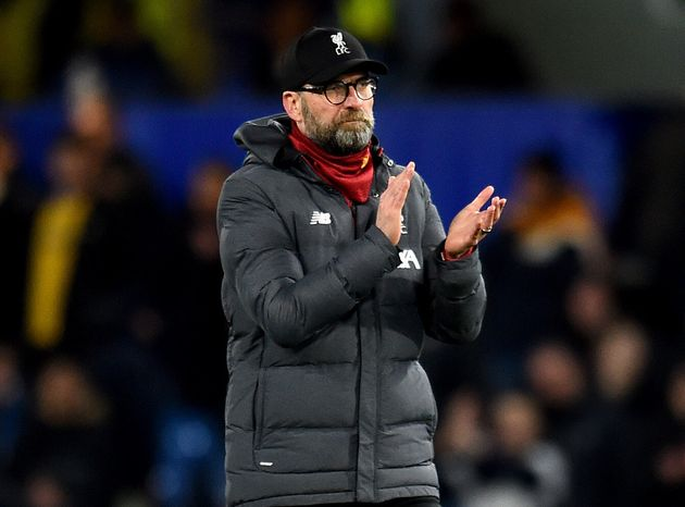 El entrenador del Liverpool, Jurgen