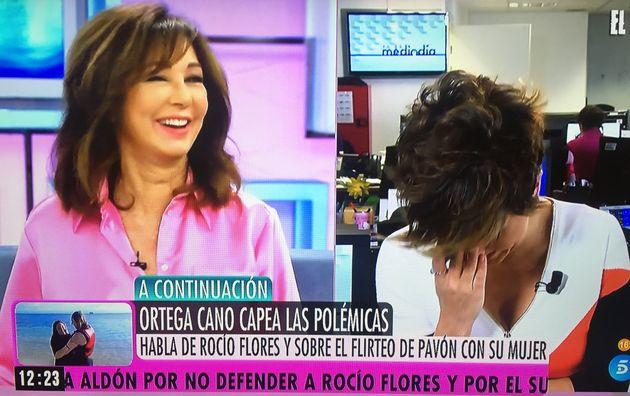 Ana Rosa Quintana y Sonsoles Ónega, el 4 de marzo de