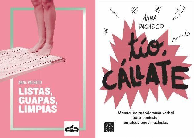 Los dos libros de la periodista Anna Pacheco.