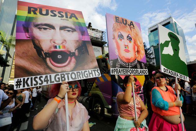 Από το gay parade της