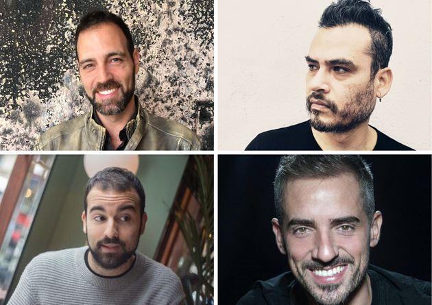 De izquierda a derecha y de arriba abajo: Iván Répila, Jaime Rodríguez Z, Aitor...