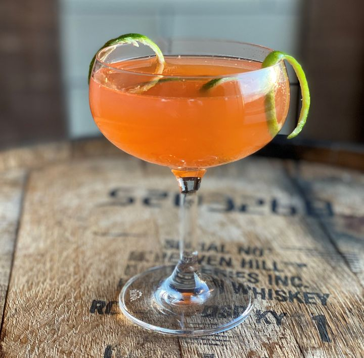 The Irish Sunset is an ideal drink to greet the warmer temperatures of spring.