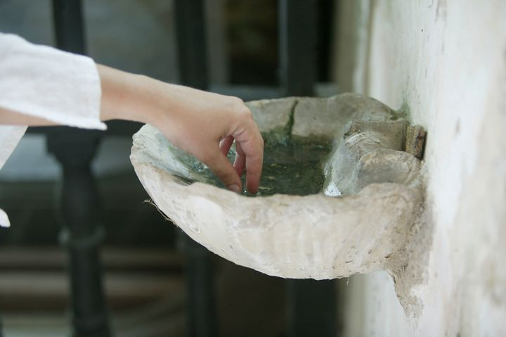 Some U.S. Catholic bishops, including SeattleArchbishop Paul D. Etienne, have instructed parishes to remove holy water