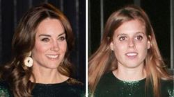 Kate Middleton And Princess Beatrice Look Identical In Shimmery Green