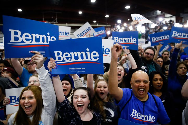 Rallies for Sanders continue to be marked by enthusiasm. But Super Tuesday's results have intensified questions about his ab