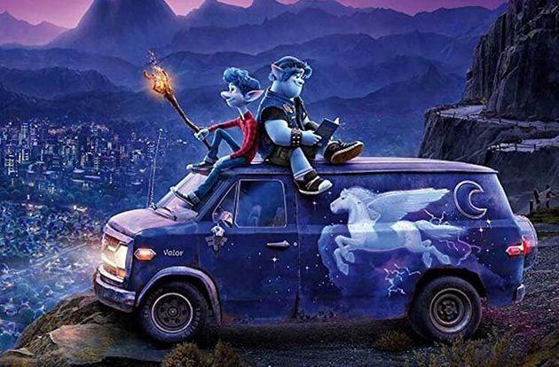 Or irmãos Ian eBarley embarcam em uma jornada de autoconhecimento em uma van não...