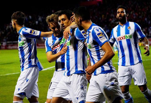 La Real Sociedad, primer finalista de la Copa del Rey al superar al