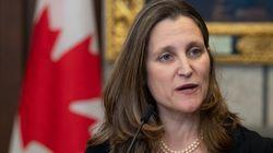COVID-19: Ottawa prêt à «réagir aussi vite que nécessaire», dit Chrystia