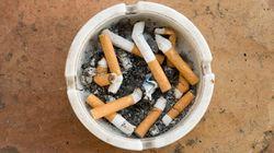 Cette odeur de cigarette froide? Un