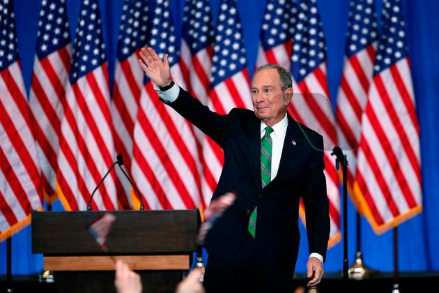 미국 8대 자산가인 블룸버그는 11월말 출마를 선언한 이후 500억달러에 달하는 선거자금을 지출했다. 한 때 지지율이 급등했지만 '슈퍼 화요일' 경선에서 만족할 만한 성적을 내지