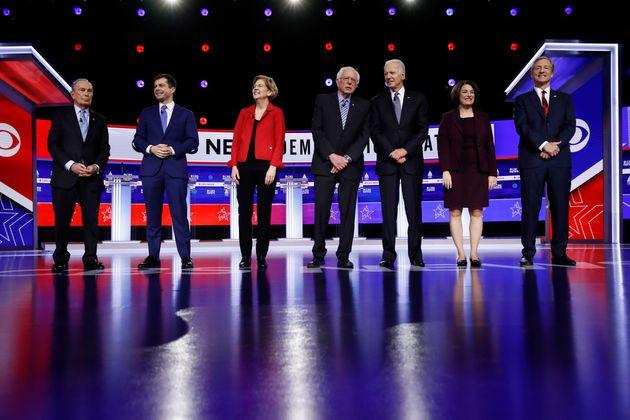 가장 최근(2월25일)에 열렸던 민주당 대선후보 경선 TV토론회에 참가했던 후보 7명 중 이제 남은 건 조 바이든, 버니 샌더스, 엘리자베스 워렌