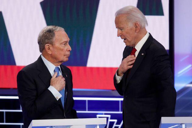 마이클 블룸버그는 조 바이든이 11월 대선에서 도널드 트럼프를 꺾을 적임자라고
