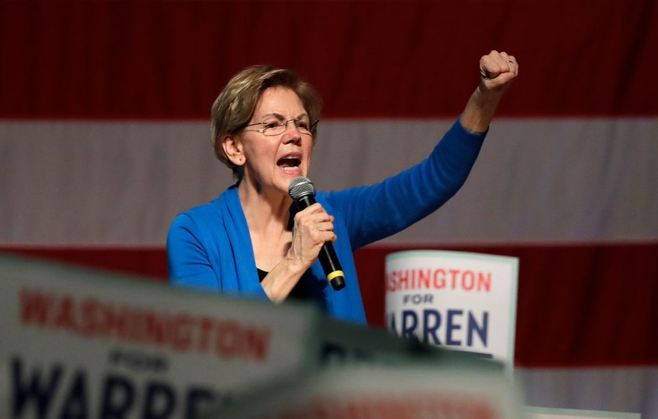Sen. Elizabeth Warren (D-Mass.) was once considered a front-runner, but she wasn't able to amass considerable...