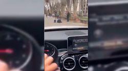 Detenido por grabarse conduciendo por la acera: