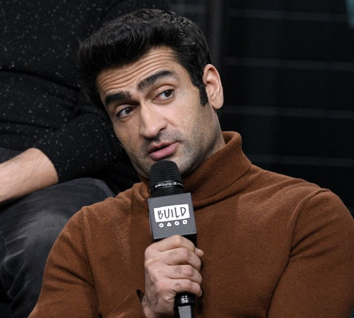 "Kumail Nanjiani discussing the Apple TV + anthology series ""Little America"" on February 05, 2020 in New York City."