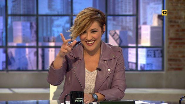 Cristina Pardo, presentadora de 'Liarla Pardo' en