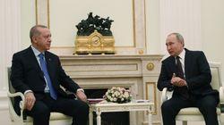 Κλίμα συναίνεσης στην συνάντηση Πούτιν-Ερντογάν και εκεχειρία στον