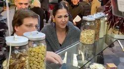 Cachondeo con este comentario de Martínez Almeida a un dependiente en un mercado de