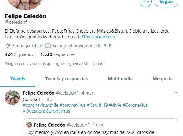 Los tuits de Felipe