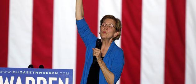 Elizabeth Warren se retira de la carrera para ser candidata