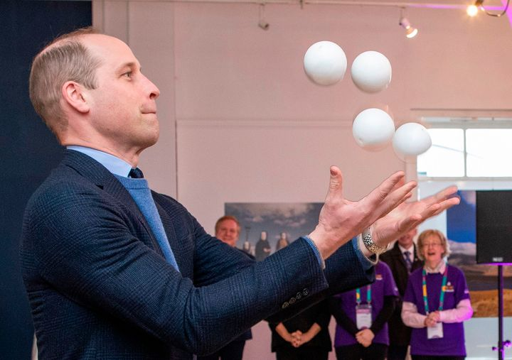 Their Royal Highnesses met performers, young people and volunteers for the forthcoming Galway 2020 event.
