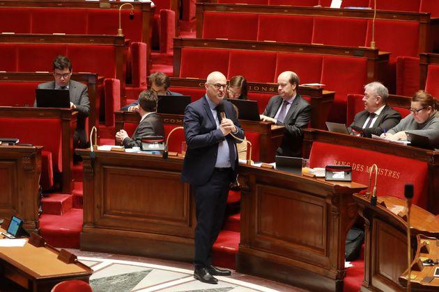 Laurent Pietraszewski à l'Assemblée nationale le 24