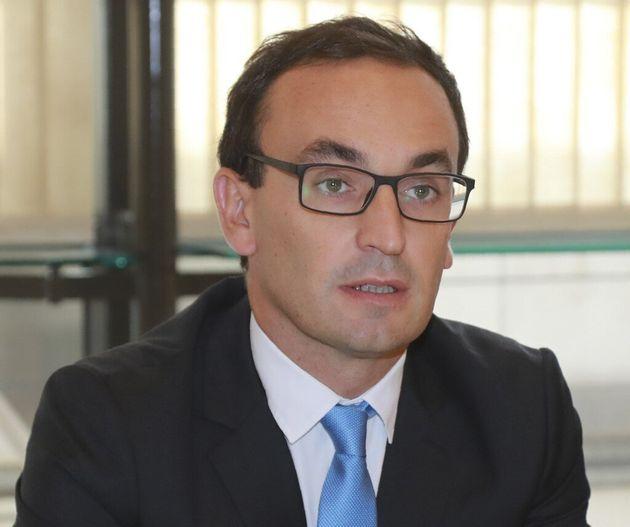 Le candidat LREM à la mairie de Bordeaux, Thomas Cazenave, le 13 septembre