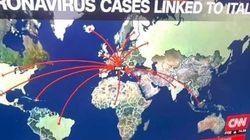 Cette carte de CNN sur le coronavirus a fâché tout rouge