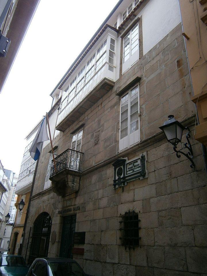 Casa Museo de Emilia Pardo Bazán en A Coruña.