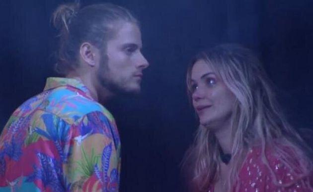 Marcela repreendeu Daniel em festa na noite desta quarta.
