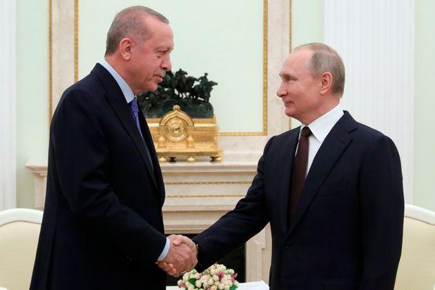 Συμφωνία Πούτιν- Ερντογάν για τη