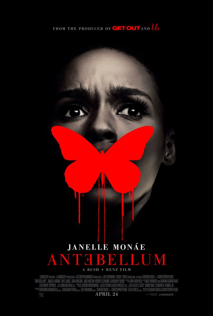 "The official poster for ""Antebellum."""
