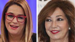 Toñi Moreno desvela lo que le dijo a Ana Rosa por los pasillos: