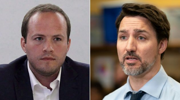 Liberal MP Nathaniel Erskine-Smith and Prime Minister Justin Trudeau are shown in a composite image of...