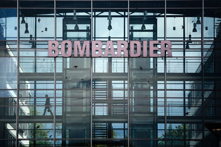 Usine de Bombardier à Berlin en Allemagne EPA/JENS SCHLUETER
