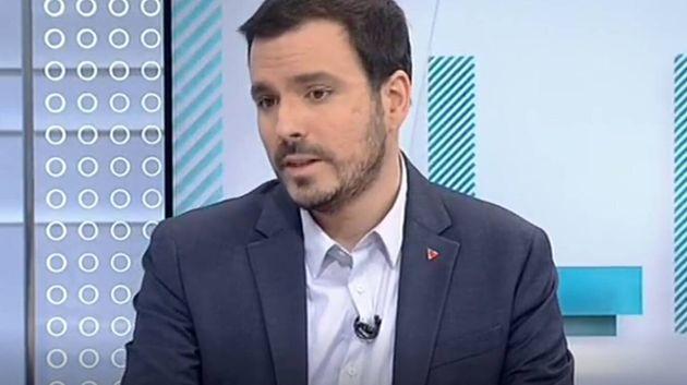 El ministro de Consumo, Alberto Garzón en 'Los Desayunos de