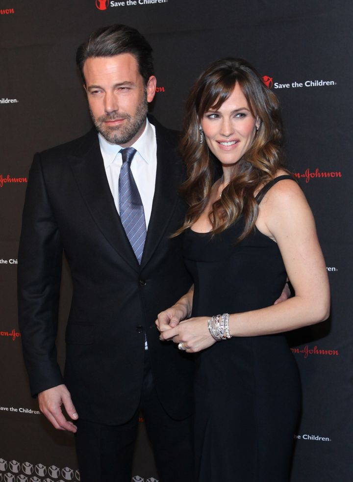 Ben Affleck and Jennifer Garner attend 2nd Annual Save the Children Illumination Gala at The Plaza Hotel on November 19, 2014 in New York City