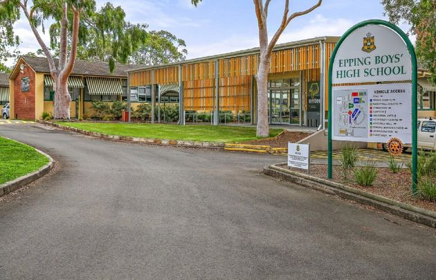 Epping Boys High School has been closed after a student contracted