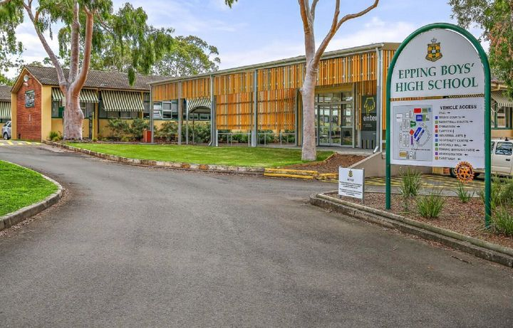 Epping Boys High School has been closed after a student contracted coronavirus.