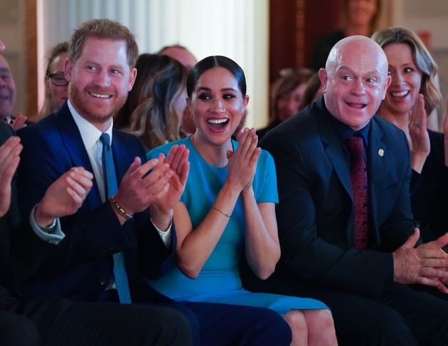 Meghan Markle And Prince Harry Witness The Sweetest Proposal And Can't Contain Their