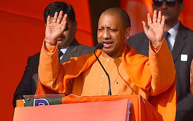 Uttar Pradesh Chief Minister Yogi Adityanath in a file