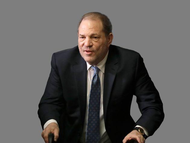 Après avoir été jugé coupable de viol et d'agression sexuelle, Harvey Weinstein...
